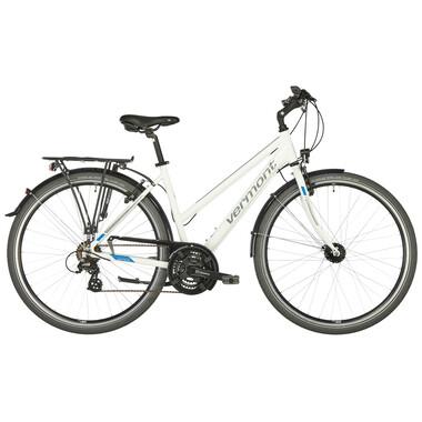 Vélo de Voyage VERMONT KINARA TRAPEZ Femme Blanc 2019
